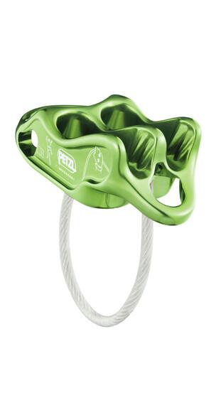 Petzl Reverso 4 Abseilgerät apfel grün